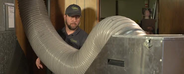 Professional duct cleaner with tube